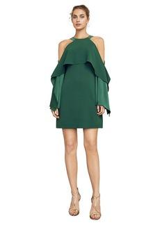 Trystan Cold-Shoulder Halter Dress