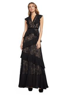 Valerya Floral Lace Gown