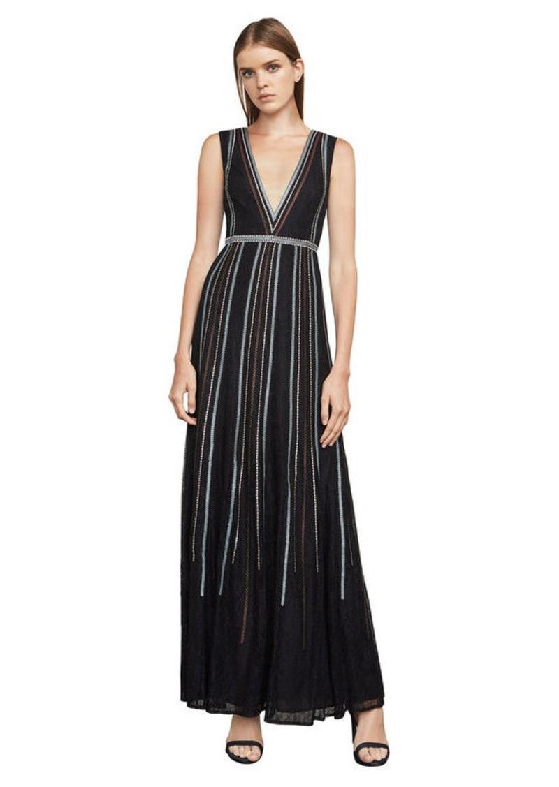 BCBG Veira Floral Lace Gown Now $229.00