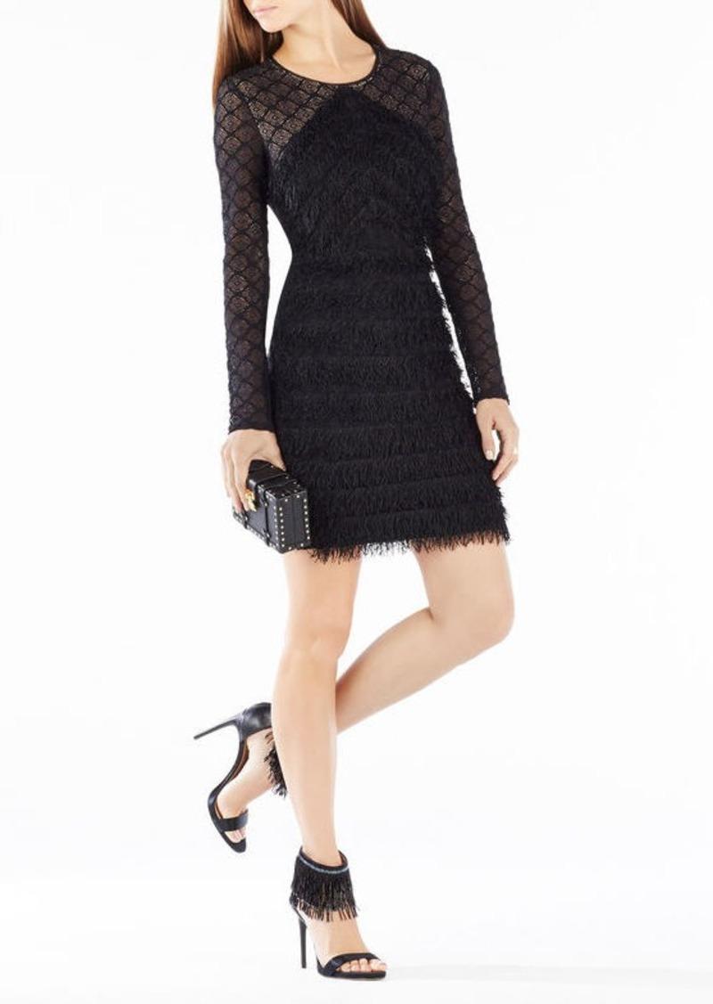 BCBG Max Azria BCBGMAXAZRIA Joela Cutout Tulle Dress