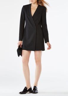Waleska Pinstriped Jacket Dress