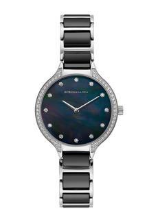 BCBG Women's Quartz Analog Bracelet Watch, 34mm