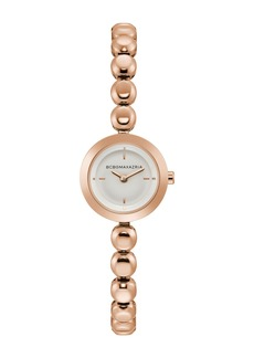 BCBG Women's Quartz Analog Dress Bracelet Watch, 23mm