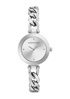 BCBG Women's Quartz Analog Dress Bracelet Watch, 30.5mm