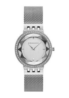 BCBG Women's Quartz Analog Mesh Bracelet Watch, 35mm