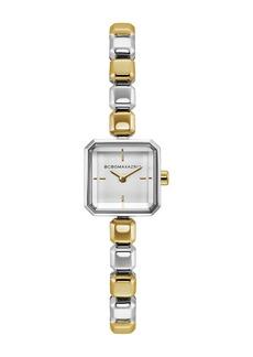 BCBG Women's Square Bracelet Watch, 20mm