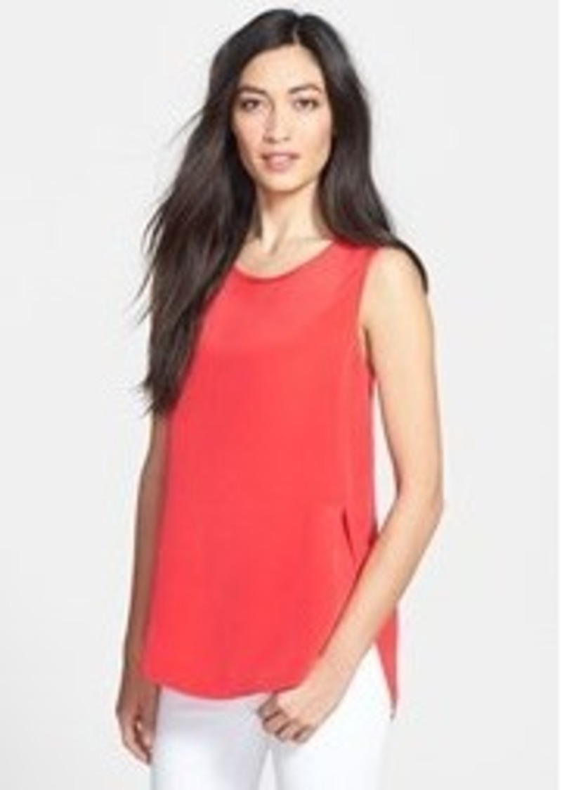 Nordstrom Collection 'Serene' Sleeveless Silk Top