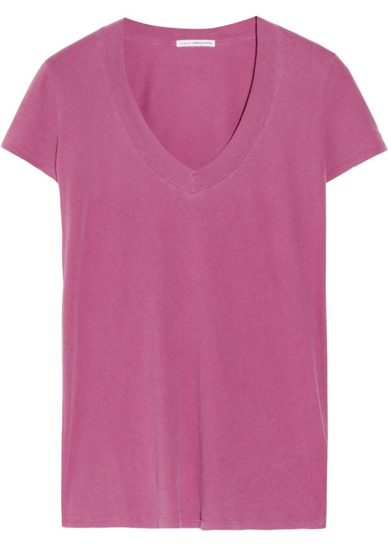 James perse james perse cotton jersey t shirt tees for James perse t shirts sale