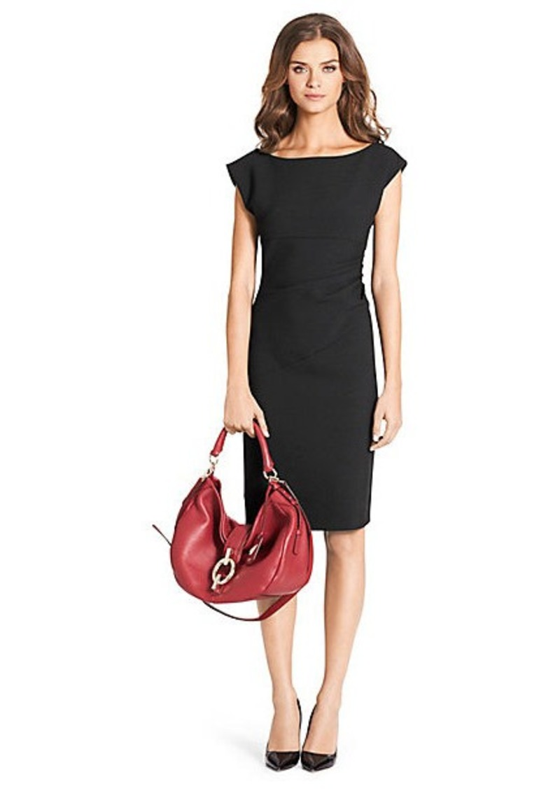 Diane Von Furstenberg Jori Ceramic Ruched Dress