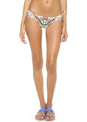 Mara Hoffman Cosmic Fountain Ruched Bikini Bottoms
