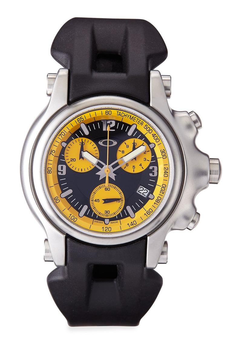 oakley oakley s holeshot chronograph yellow