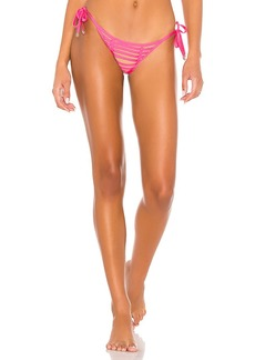 Beach Bunny Hard Summer Skimpy Tie Side Bikini Bottom