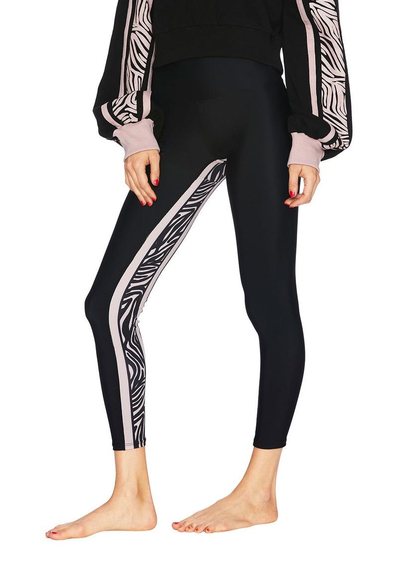 Beach Riot Gracie Leggings with Zebra Panel