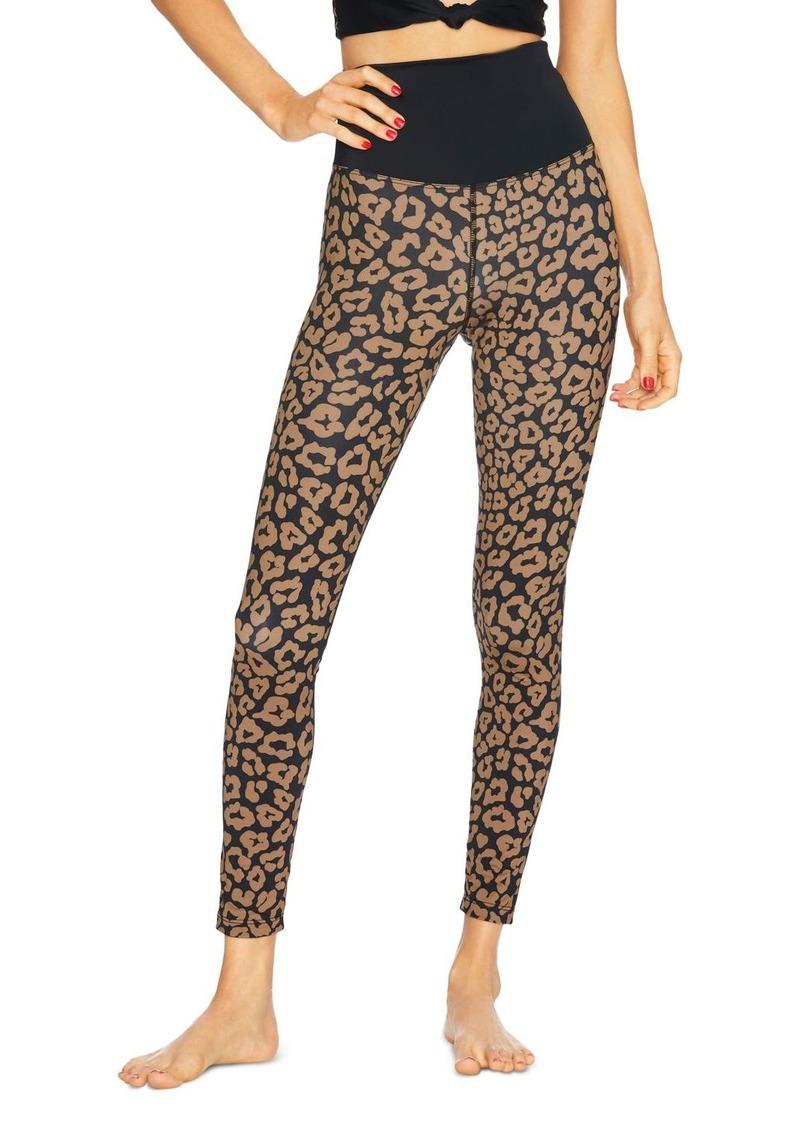 Beach Riot High-Rise Leopard Print Leggings