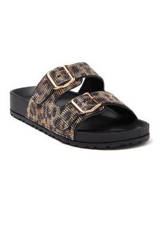 bebe Avon Embellished Slide Sandal