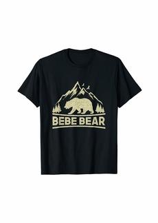 Bebe Bear Bear Tshirt Matching Family Camping Gift