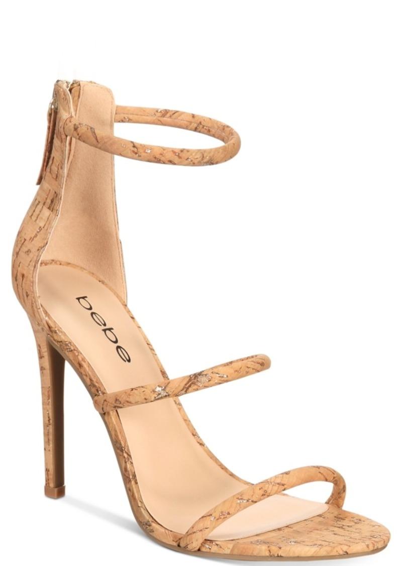 bebe Berdine Ankle-Strap Dress Sandals Women's Shoes