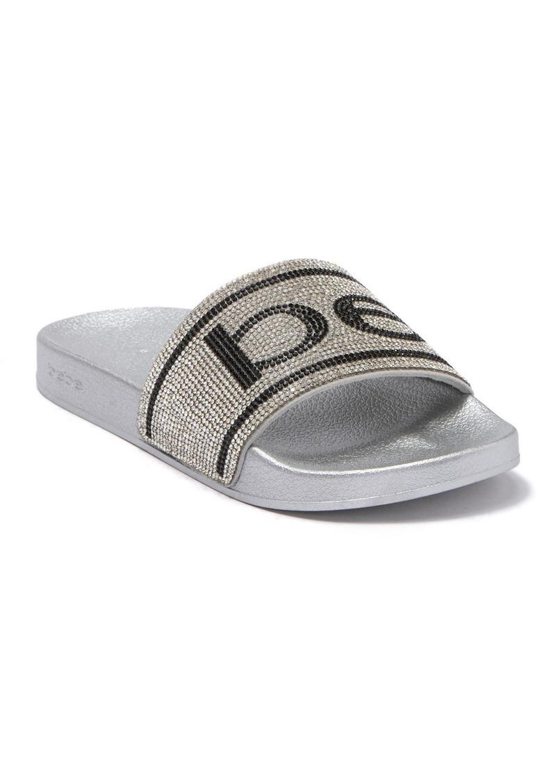 Bebe Embellished Slide Sandal