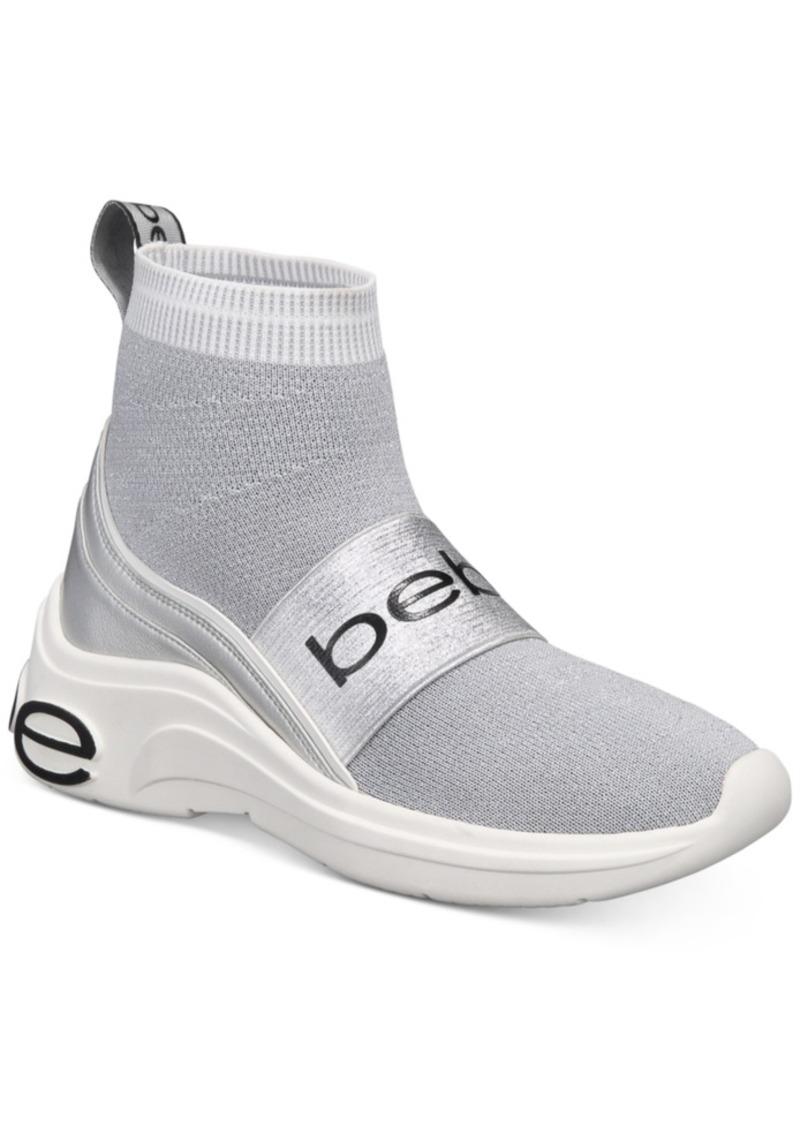 bebe Locked Sock Sneakers Women's Shoes