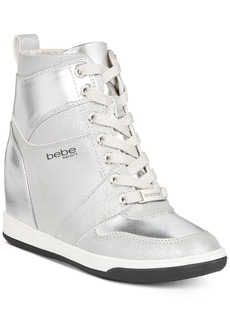 bebe Sport Charlane Wedge Sneakers Women's Shoes