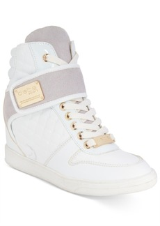 bebe Sport Colby Wedge Sneakers Women's Shoes