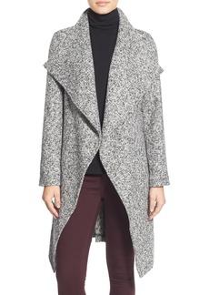 bebe Tweed Wrap Coat