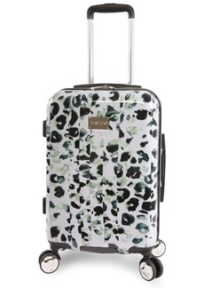"BEBE Women's Abigail 21"" Hardside Carry-on Spinner Luggage"