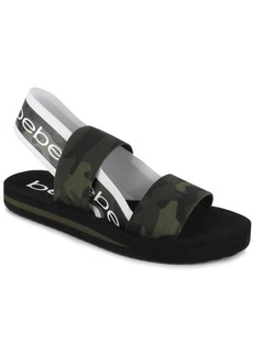 bebe Women's Atena Band Stretch Sandals Women's Shoes