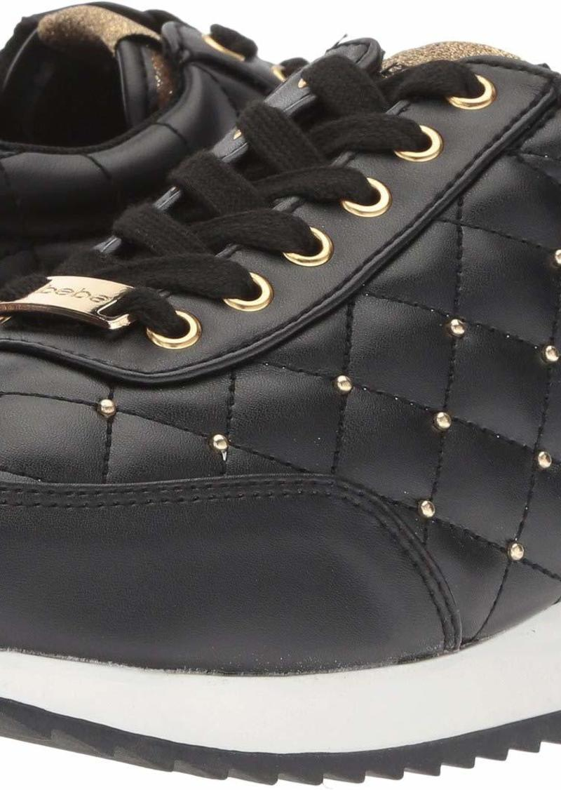 bebe Women's Barkley Sneaker   Medium US