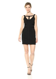 bebe Women's Bodycon Bandage Dress  X Large