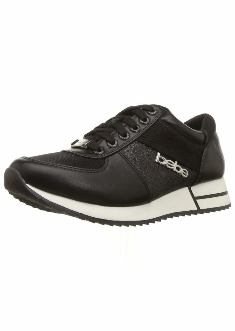 bebe Women's Brienne Sneaker   Medium US