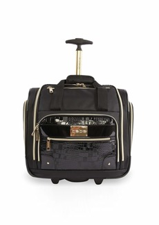 BEBE Women's Danielle-Wheeled Under The Seat Carry On Bag