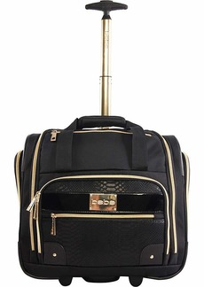 BEBE Women's Evans Wheeled Under The Seat Carry On Bag