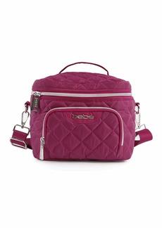 BEBE Women's Gigi Reusable Insulated Lunch Box Tote Bag