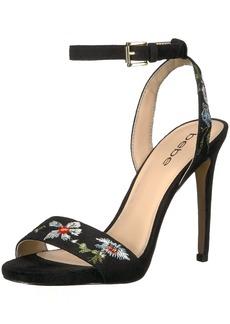 Bebe Women's Ingram Heeled Sandal   Medium US