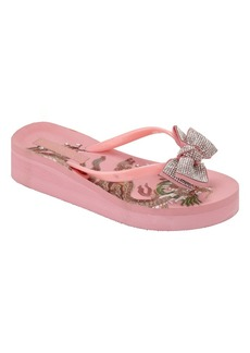 bebe Women's Jamye Sandal  8 Medium US