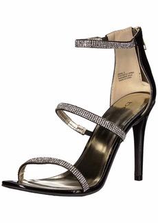 bebe Women's Janae Heeled Sandal  7 Medium US