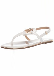 Bebe Women's Janney Flat Sandal   Medium US