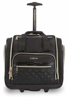 BEBE Women's Leena-Wheeled Under The Seat Carry On Bag
