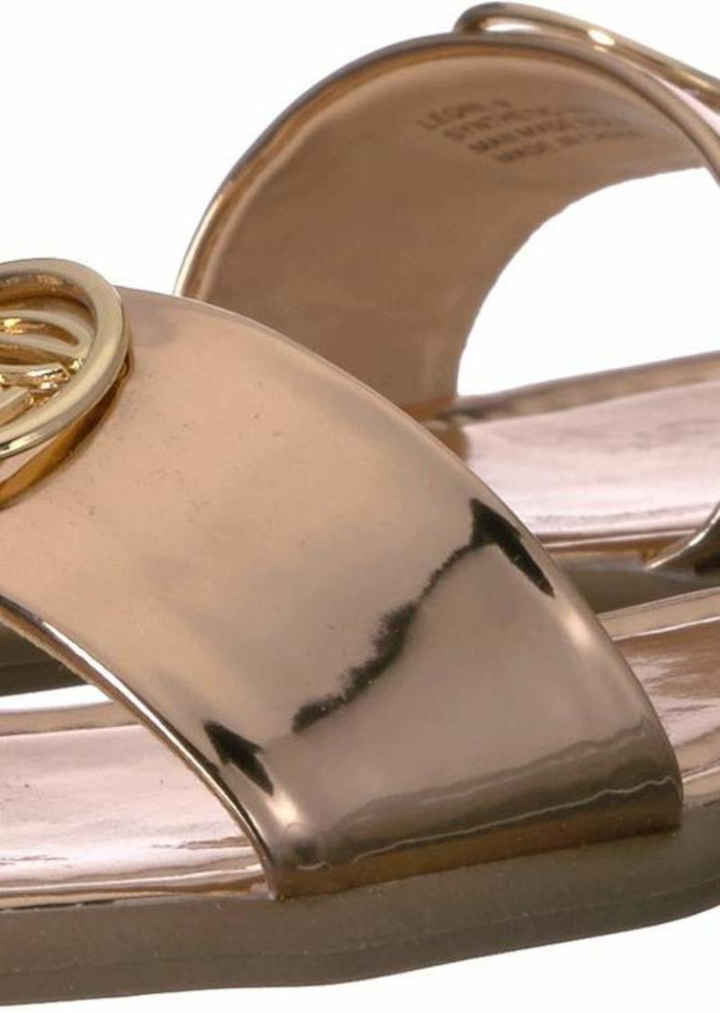 bebe Women's Leone Sandal   Medium US
