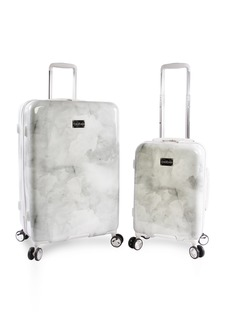 BEBE Women's Lilah 2 Piece Set Suitcase with Spinner Wheels