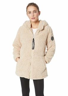 BeBe Women's Outerwear Women's Plus Size Active Parka Jacket