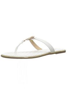 bebe Women's Parris Flat Sandal  8 Medium US