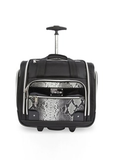 BEBE Women's Tiana-Wheeled Under The Seat Carry On Bag