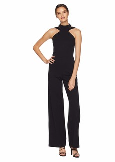 bebe Choker Neck Jumpsuit