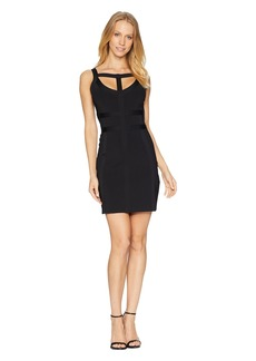 bebe Cut Out Bandage Dress