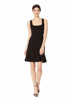 bebe Godet Dress