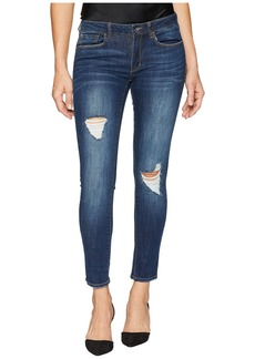 bebe Heartbreaker Ankle Skinny in Sunset Wash