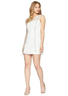 bebe Lace Fringe Dress