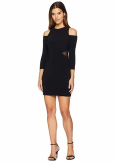bebe Lacing Cut Out Dress
